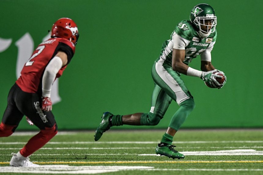 Riders' Carter misses offence, but happy on defence
