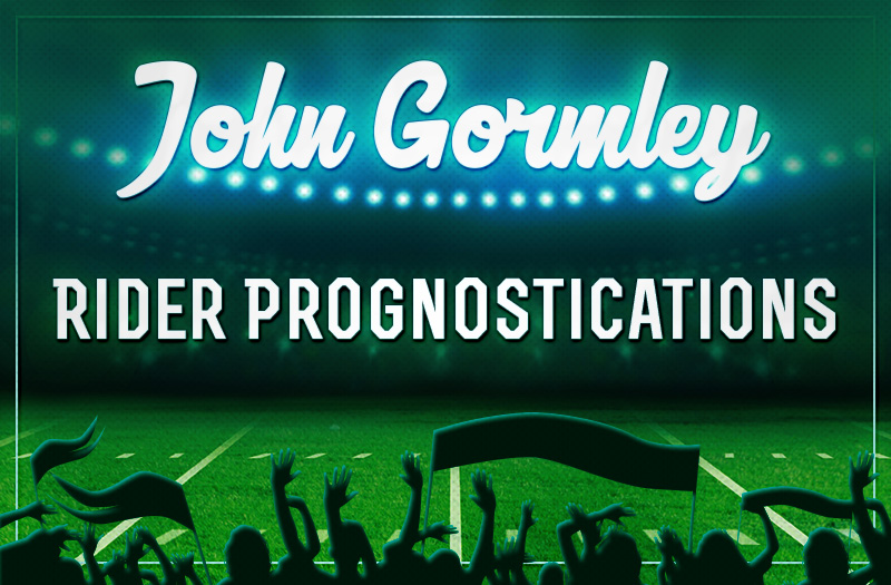 Gormley's Rider Prognostications