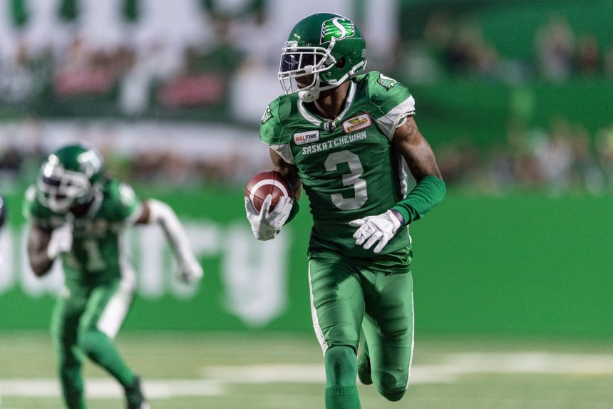 Willie Jefferson comes up big late, leads Riders over Eskimos 19-12