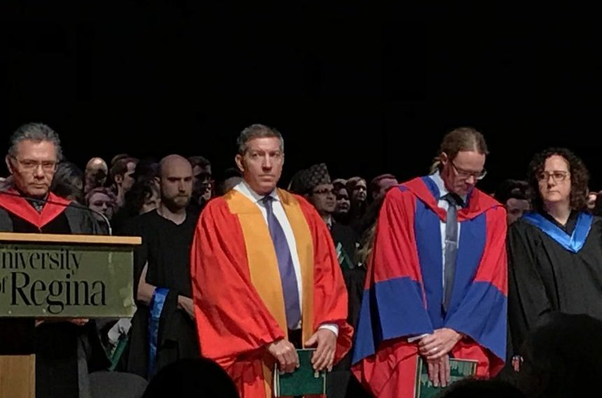 Sheldon Kennedy receives honorary degree from the U of R