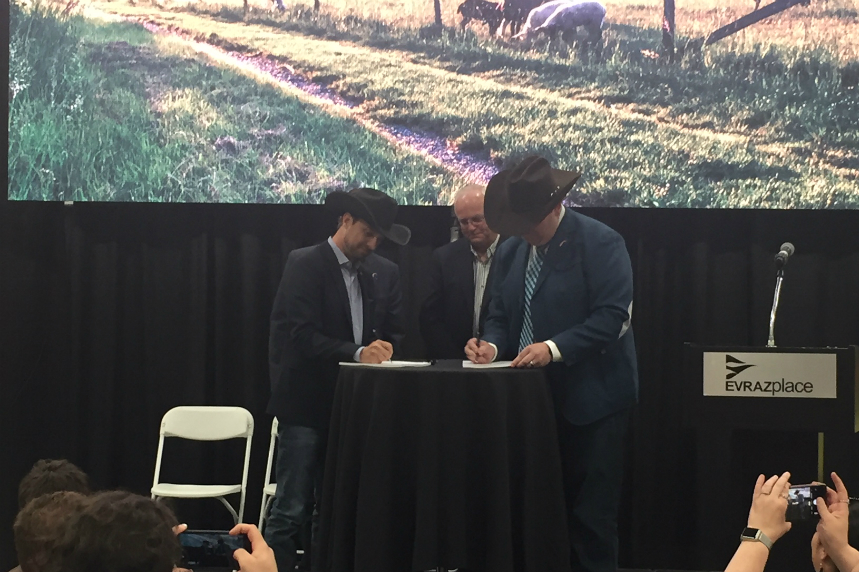 10 more years: Agribition renews agreement with Evraz place