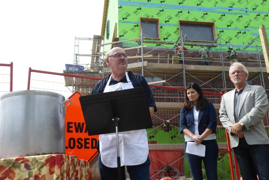 Souls Harbour gets donation for new Angus St. building