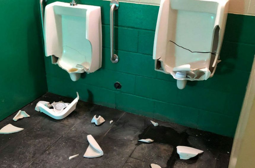 Vandals destroy washrooms at Wakamow Valley