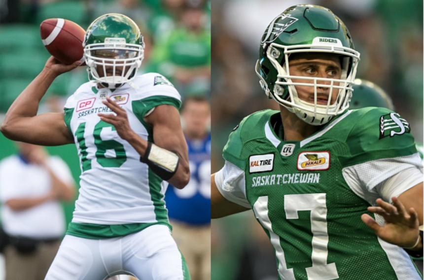 Jones stays mum on Riders starting quarterback