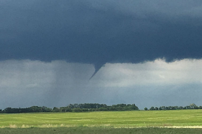 Funnel cloud advisory ends in southeast Sask.