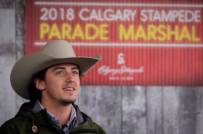 Snowboarder Mark McMorris to marshal annual Calgary Stampede parade