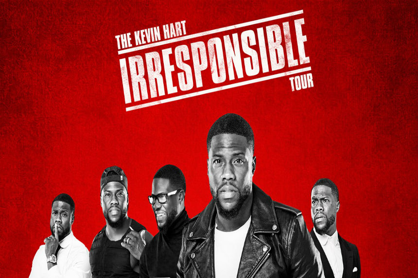 Cell phones banned from comedian Kevin Hart's Regina show