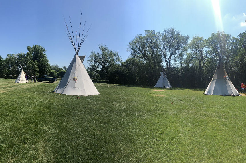 More teepees added at protest camp near Sask. Legislature