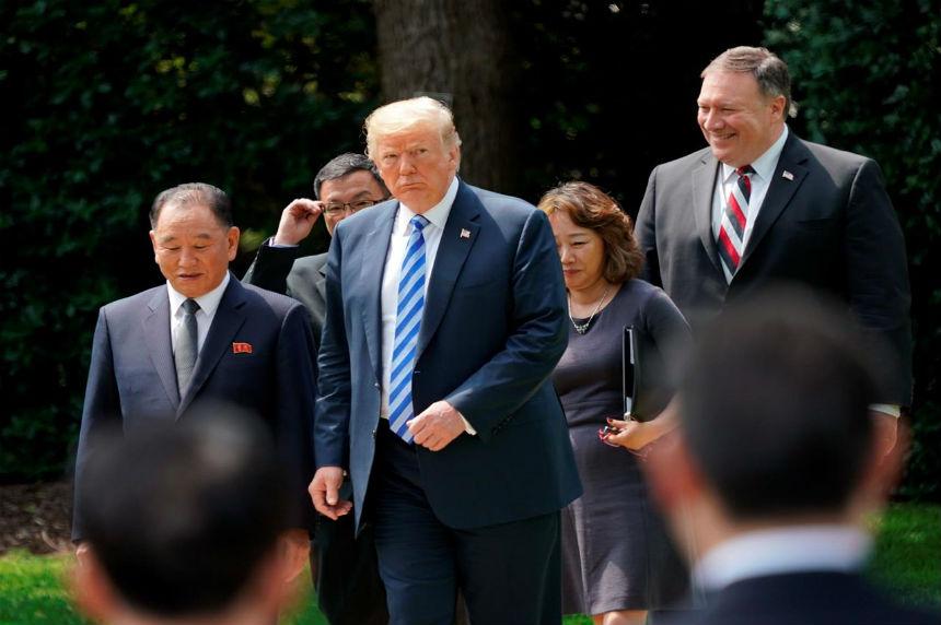 Trump, North Korea's Kim Jong Un back on for summit