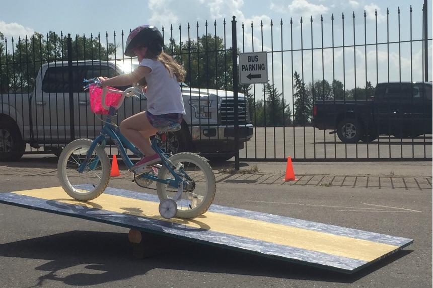 Bike Roadeo: RCMP Heritage Centre focuses on bike safety