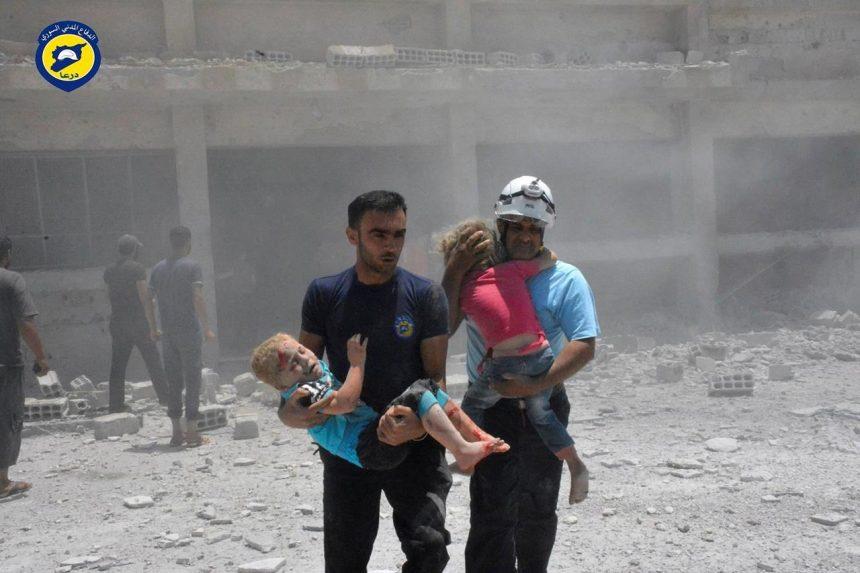 Israel rescues Syrian volunteers stranded in frontier area