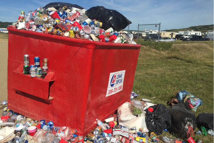 Cleanup begins in Craven as Country Thunder ends