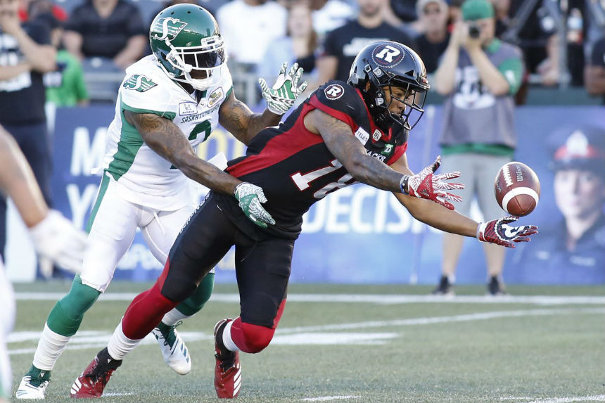 Riders defence needs strong game against Ti-Cats' Masoli