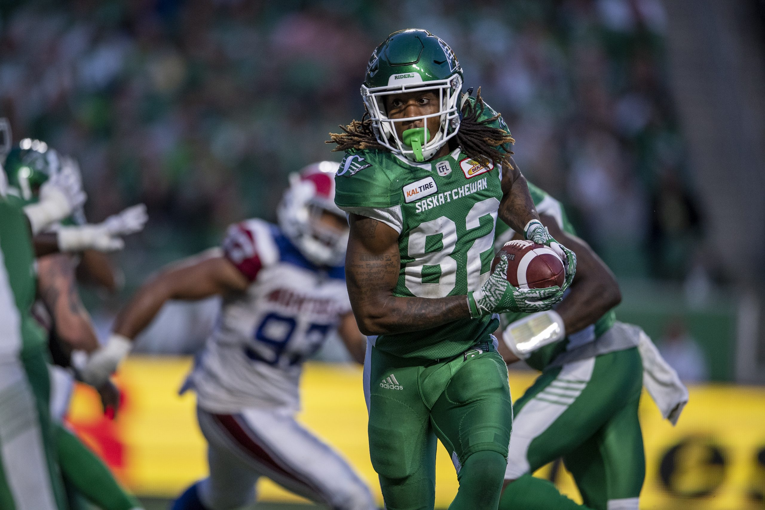 Roosevelt returns to Riders practice after knee sprain