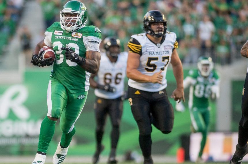 Defence powers the Roughriders past Ti-Cats 18-13