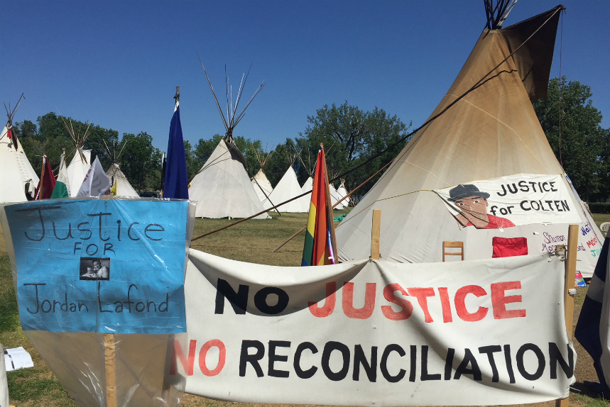 Protest camp responds to Sask. government, want more done