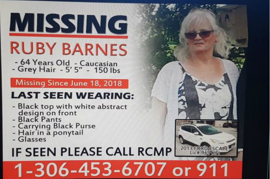 RCMP find remains, vehicle linked to missing Carlyle woman