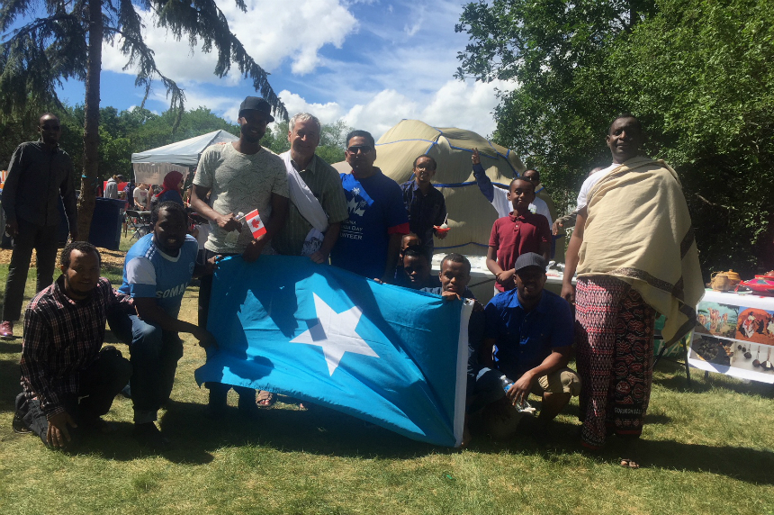 Double celebration: Regina's Somali community marks Canada Day