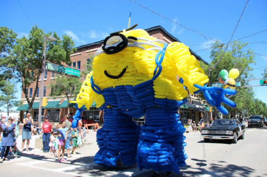 Sask. brothers chase world record with balloon costume