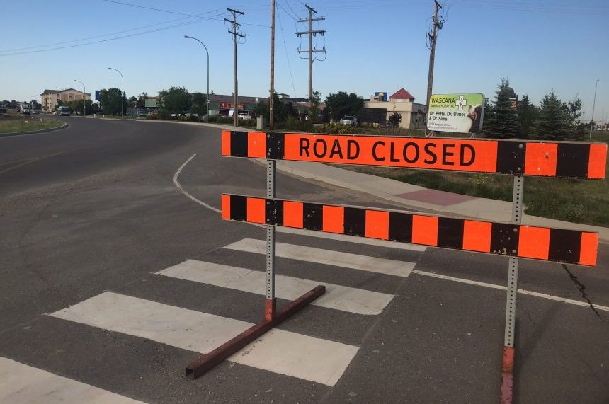 Work begins on Regina's Eastgate Drive realignment