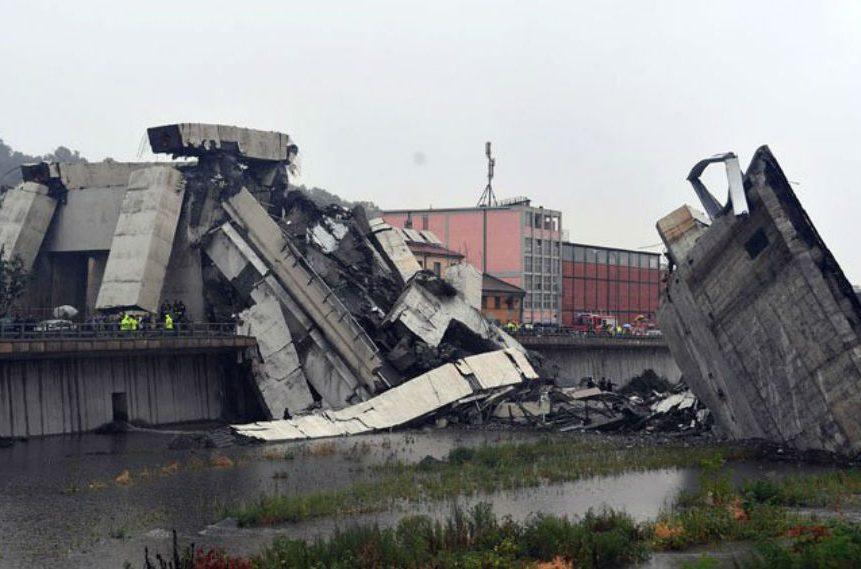 PHOTOS: Deadly bridge collapse in Genoa Italy