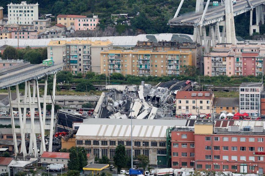 Canadian train travellers narrowly avoid deadly Italian bridge collapse