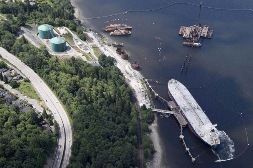Cost to twin Trans Mountain pipeline now $1.9B higher, Kinder Morgan says