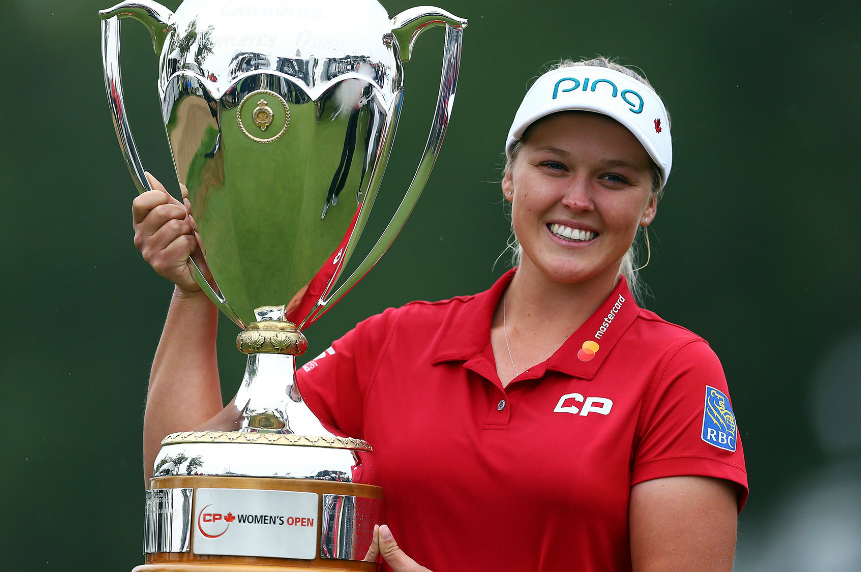 Brooke Henderson wins CP Women's Open, first Canadian since 1973