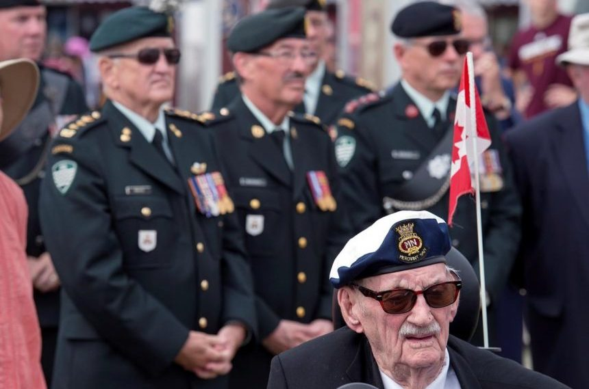 Halifax ceremony marks final Great War push known as Canada's Hundred Days