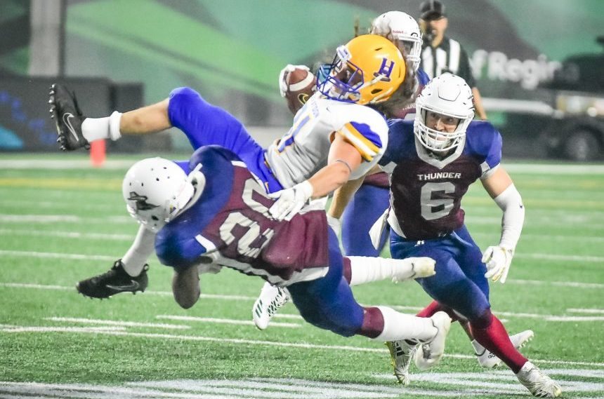 Hilltops run over Thunder with 41-7 win