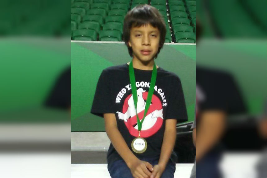 12-year-old Dylan Lonechild missing in Regina