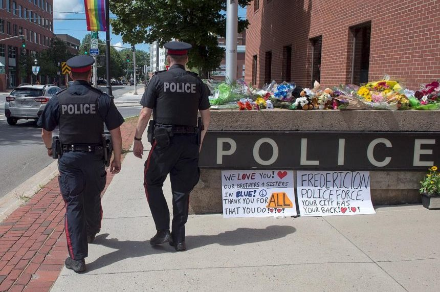 He said he would always come home, says spouse of officer killed in Fredericton