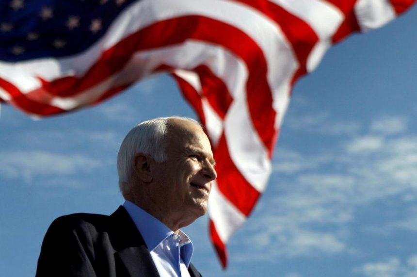 War hero and presidential candidate John McCain has died