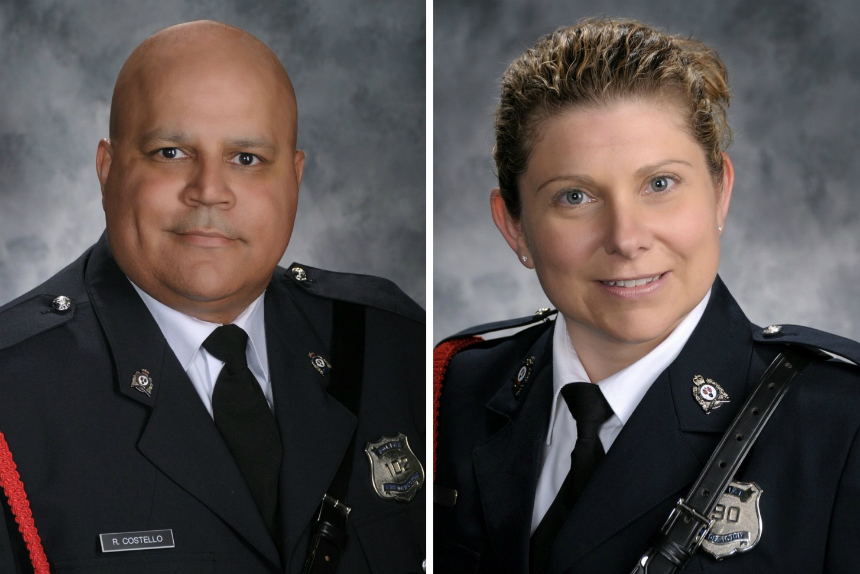 Statements from families of fallen New Brunswick police officers