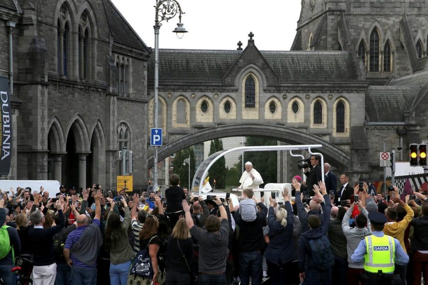 Pope in Ireland decries abuse coverup, meets with victims