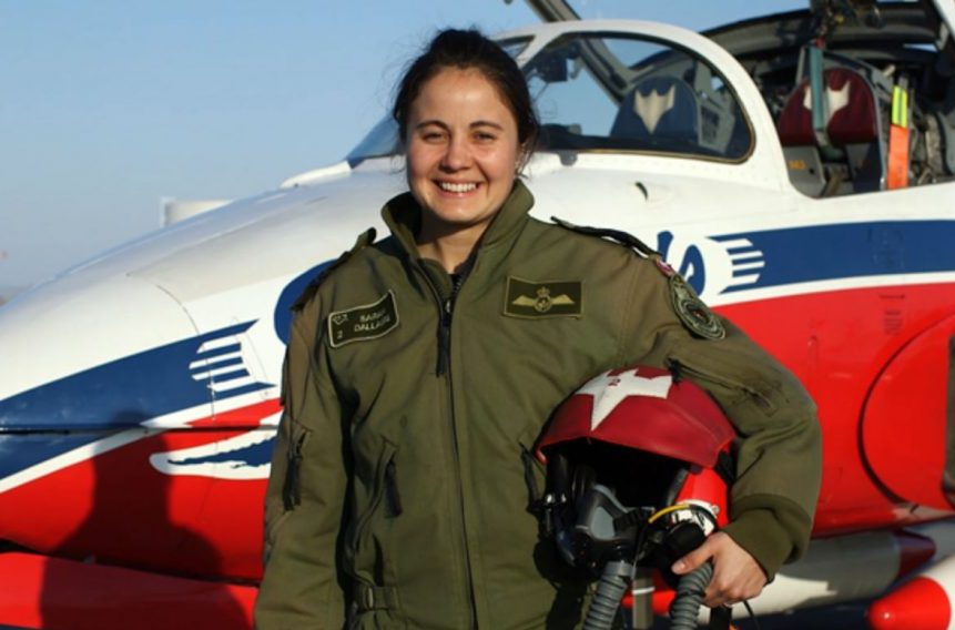 'In my veins:' 2nd female Snowbird pilot born to fly