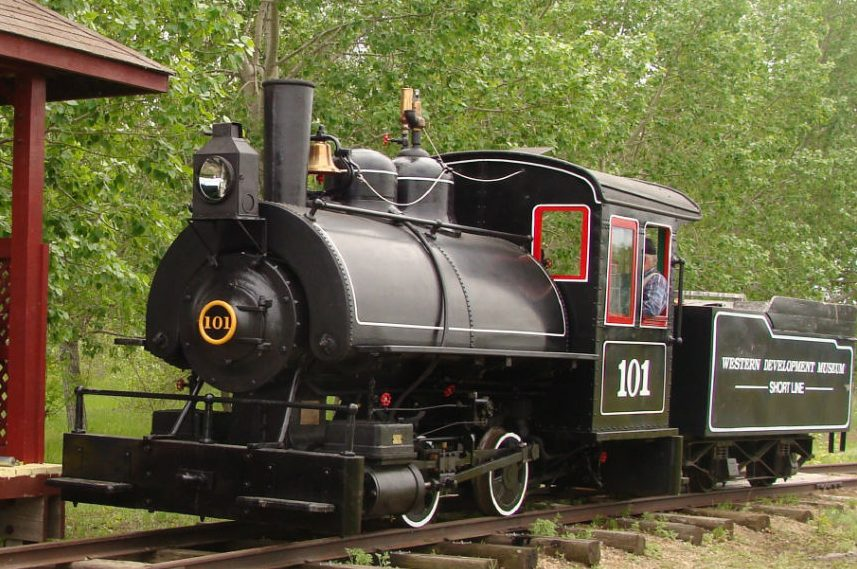 Brass bell stolen from museum's historic steam locomotive