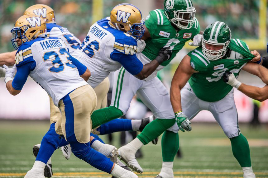 Riders practice with 111 decibels of noise to prep for Bombers