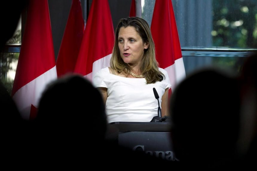 Conviction of Myanmar journalists a blow to human rights and democracy: Freeland