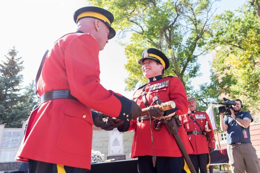 RCMP holds official change of command ceremony for Commissioner Brenda Lucki