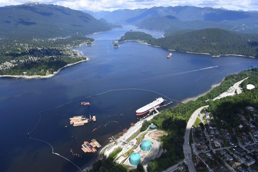 Washington wants Canada to improve spill plan for U.S. spur of Trans Mountain