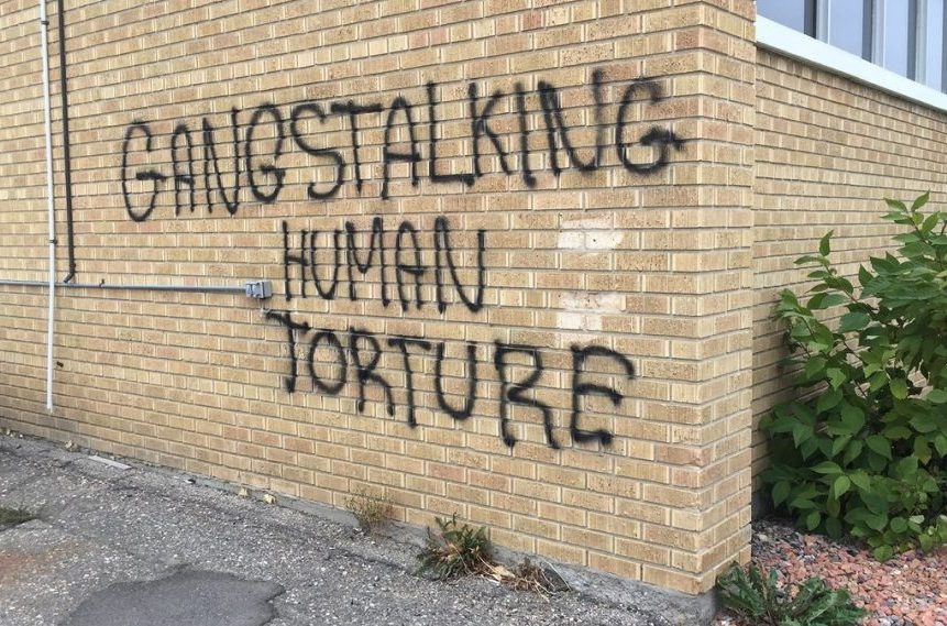 Regina media outlets targeted with graffiti and break-in overnight
