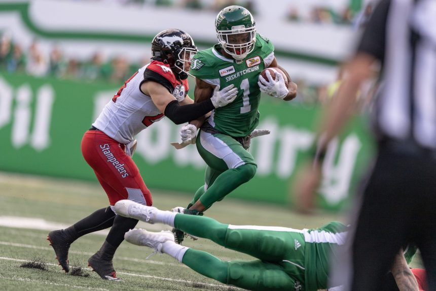 Roosevelt out, Evans and Shaw in as Riders get set for Eskimos