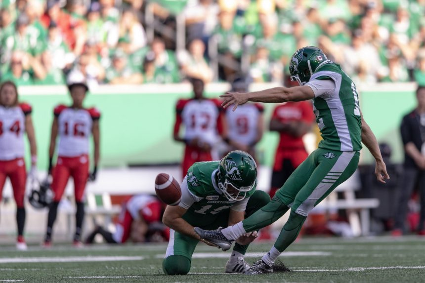 Riders' Lauther prefers Grey Cup to 'personal' CFL Awards