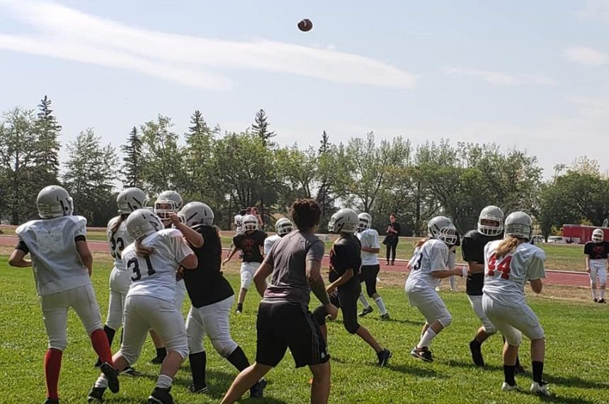 Regina's first girls football tackle team set to take field