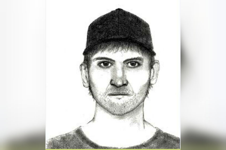 Moose Jaw police release sketch of sexual assault suspect