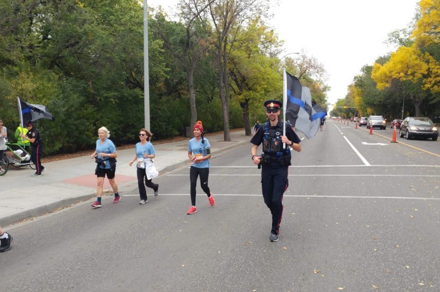 Weyburn cop runs QCM for fallen officers, mental health