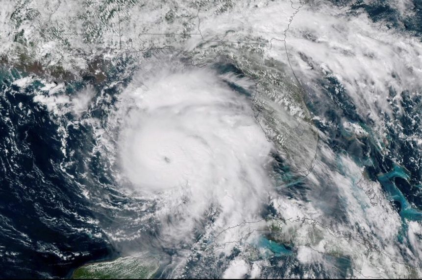 Supercharged overnight, Hurricane Michael menaces Florida
