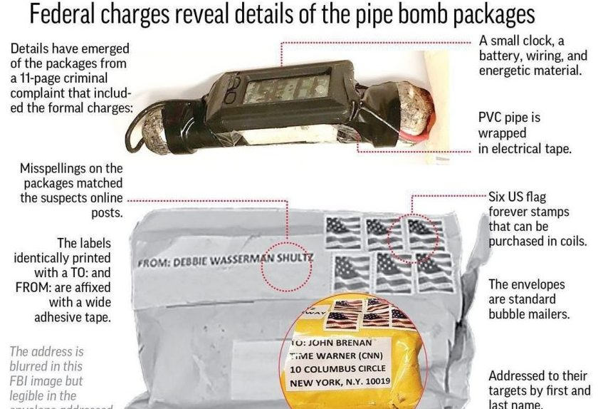 Pipe bomb suspect was spinning records as FBI closed in
