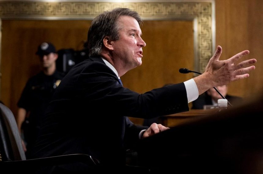 Kavanaugh says he 'might have been too emotional' at hearing